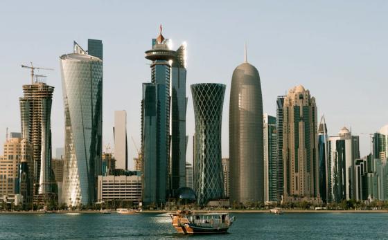 Skyline de Doha, Qatar © Nigel Downes