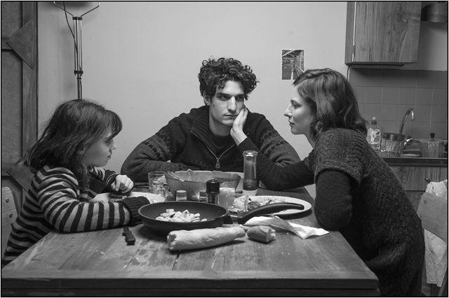Anna Mouglalis, Louis Garrel et Olga Milshtein © Integral Film