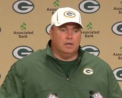 Mike McCarthy promises Packers' run game will be better