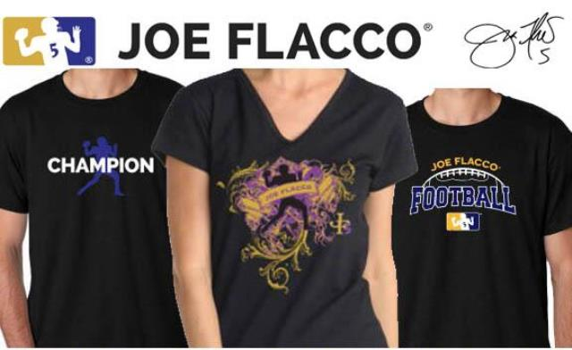 joe flacco shirts