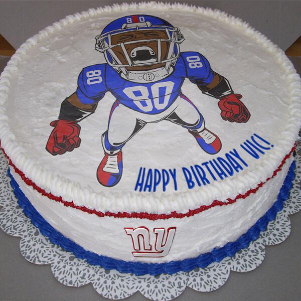 victor cruz birthday cake