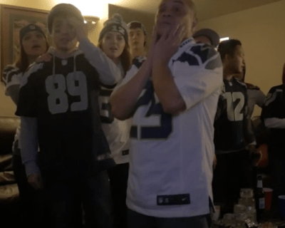 These Seahawks' fans videotaped their reactions for the entire Super Bowl