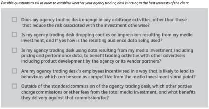 Les 5 points de vigilance vis à vis de votre trading desk