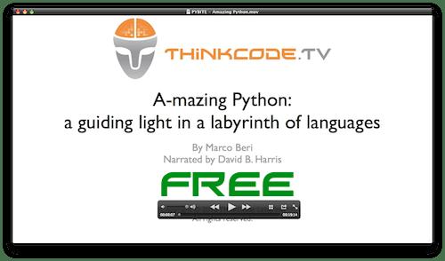 Free Python Screencast