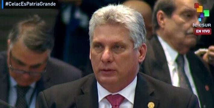 Intervención de Díaz-Canel en la IV Cumbre de la CELAC