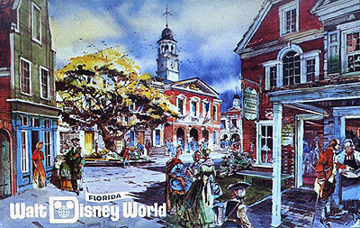 Liberty Square Pre-opening Rendering