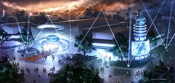 American Idol Experience rendering