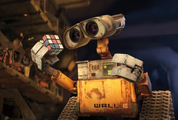 WALL-E and his Rubik\'s Cube