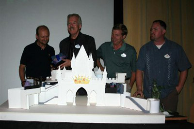 Imagineers unveil the working model for the new Castle tour