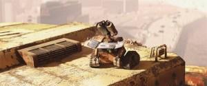 WALL-E charging up