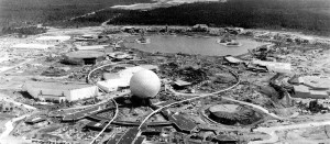 EPCOT Center under construction, 1982