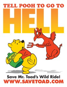 Tell Pooh to go to Hell