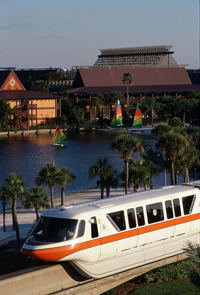 Polynesian Resort with Monorail