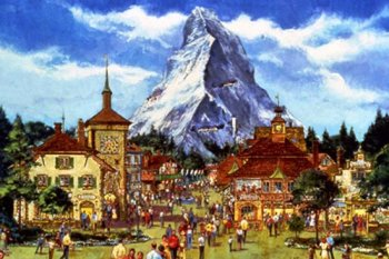 EPCOT Swiss pavilion rendering