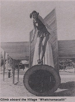 Lake Buena Vista Shopping Village Whatchamacalit, 1976