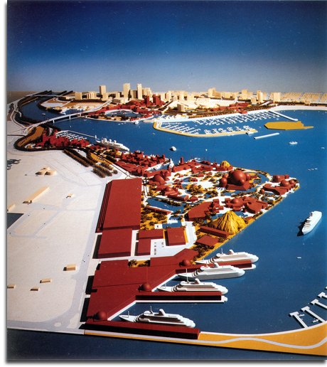 Port Disney Model, 1990 (small)