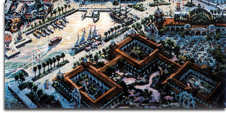 Port Disney - DisneySea - WorldPort rendering, 1990 (small)