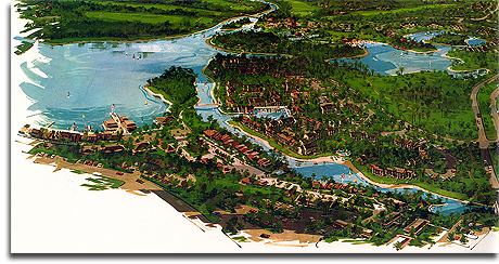Lake Buena Vista rendering, 1971 (small)