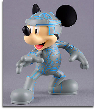 Mickey Mouse as TRON