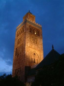 Morocco minaret