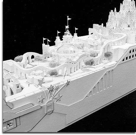 S.S. Disney model amidships (web)