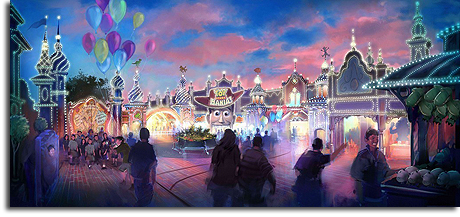 Toy Story Midway Mania rendering, Tokyo DisneySea (small)