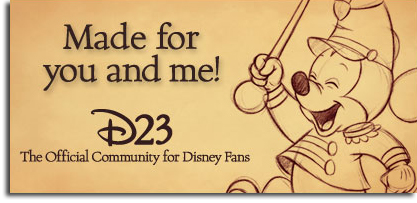 D23 Mickey Banner