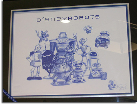 Disney Robots gift from SDCC