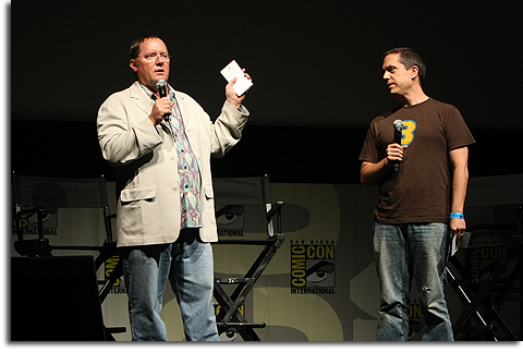 John Lasseter and Lee Unkrich