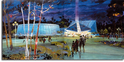 Science & Invention Pavilion, Herb Ryman, 1979