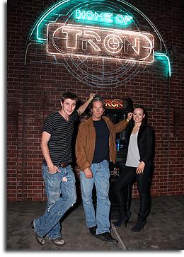 TRON: Legacy cast in Flynn's