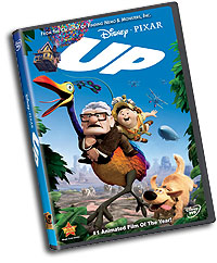 Up DVD packaging