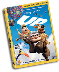 Up Deluxe DVD packaging