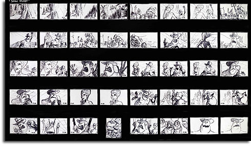 Storyboard for The Snow Queen