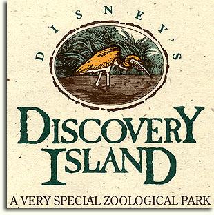 Discovery Island logo, 1994