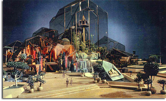 Tony's striking original concept for Epcot Center's The Land.