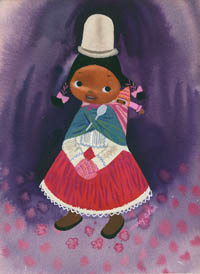 Peruvial Girl by Mary Blair