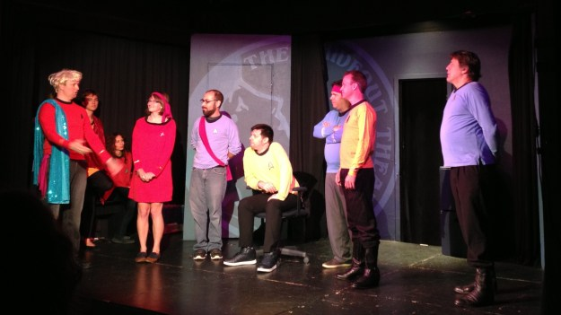 The Hideout Theater's take on Star Trek.