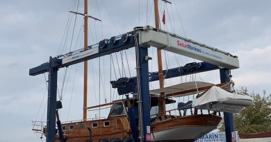 BATI Provide Lifting & Wintering Services for an 18m Yacht