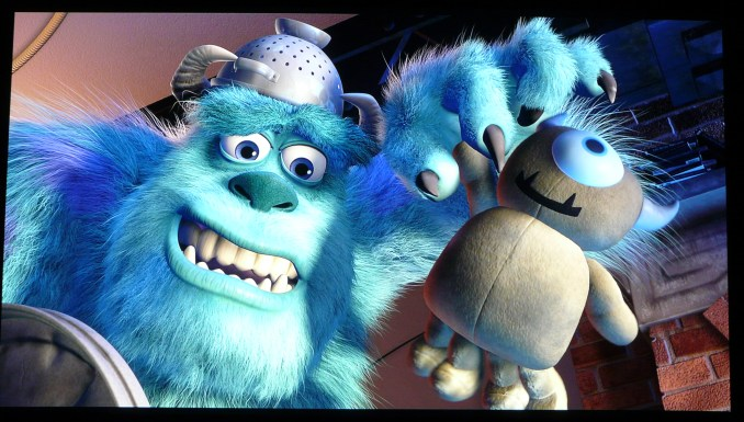 Epson EH-LS10000 Monsters Inc 4K Enhancement 2