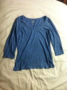 3/4 Sleeve shirt-$10, Old Navy.