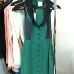 Green Collared Dress-$180