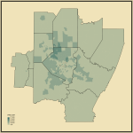 20. Median Income in Pittsburgh-New Castle-Weirton, PA-OH-WV