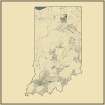 Streams and Waterbodies in Indiana
