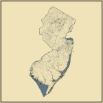 Streams and Waterbodies in New Jersey