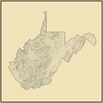 Streams and Waterbodies in West Virginia