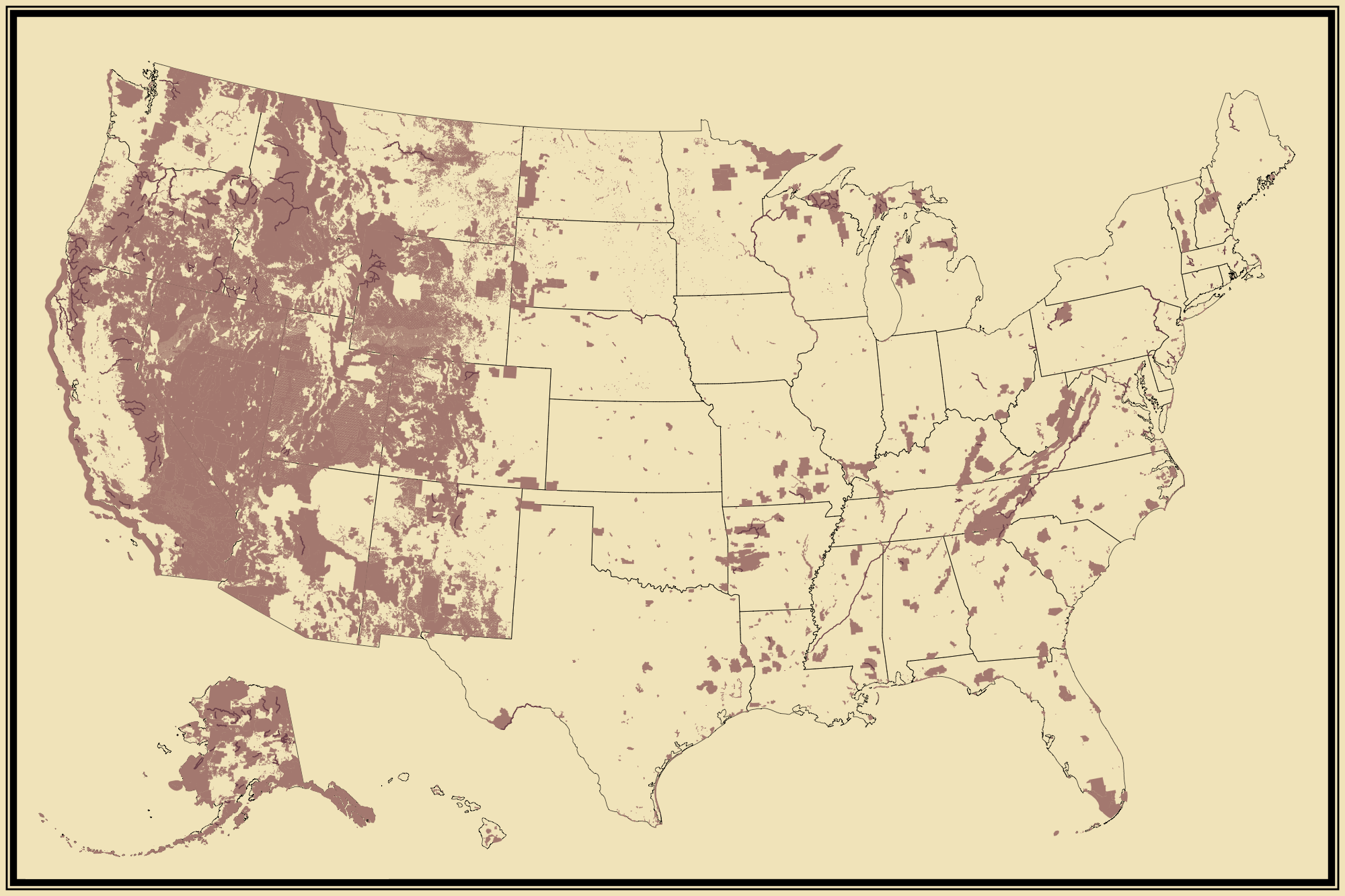 Federal Land | Statistical Atlas of the United States