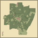 20. Ratio of Never Married to Married People in Pittsburgh-New Castle-Weirton, PA-OH-WV