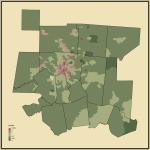 28. Ratio of Never Married to Married People in Cincinnati-Wilmington-Maysville, OH-KY-IN