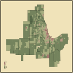 3. Ratio of Never Married to Married People in Chicago-Naperville, IL-IN-WI